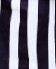 Chunky Black white stripe